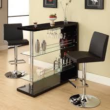 corner curved mini bar. Coaster Company Bar Table, Gloss Black Corner Curved Mini O