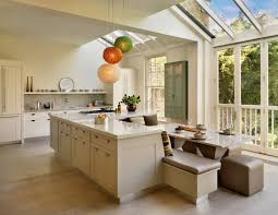 Kitchens With Islands Modern White Kitchens With Islands Exquisite Black And White