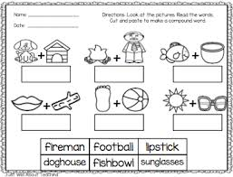 Compound Words Worksheets First Grade Worksheets For All Download