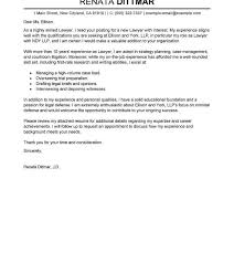 Associate Attorney Cover Letter Law Firm Coveretter Uk Summer