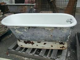 how to re a cast iron tub pictures are for reference only how to get rust