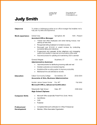 9 Office Manager Resume Objective Offecial Letter Project Assistant