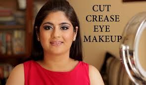cut crease eye makeup tutorial indian makeup and beauty beauty tips eye makeup smokey eyes zuri