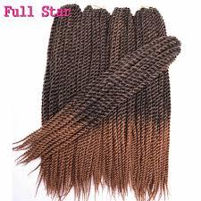 "Full Star 12"" 18"" 22"" 80g 12Root 3S Crochet <b>Box Braids</b> Synthetic ..."