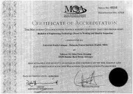 Programme Bachelor Of Engineering Technology Hons In Welding