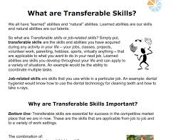Transferable Skills Example Resumes Transferable Skills Resume Sample Cover Letter Samples
