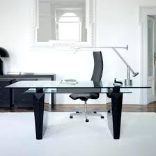 white modern office chair white rolling. Surprising Awesome Modern Glass Office Desk Top Black Inspirations White Chrome Chair Rolling A