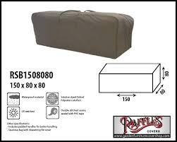 raffles covers patio furniture cushion storage bag 150 x 80 h 80 cm