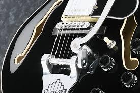hollow bodies artcore af75tdg ibanez guitars art 2 roller bridge vbf70 vibrato