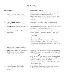 Format For Credit Note Photo U2013 Credit Note Help 44 More
