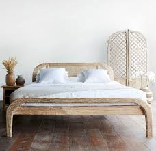 whitewashed bedroom furniture. Teak Bed Frame | Plough Australian Queen Size - Whitewash Whitewashed Bedroom Furniture D