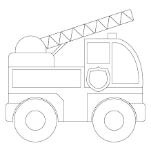 Small Picture Fire truck coloring pages for toddler ColoringStar