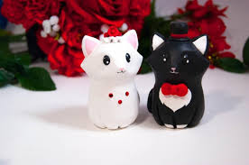 Decor Cat Wedding Cake Toppers Weddbook