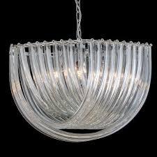 carrie murano glass pendant light