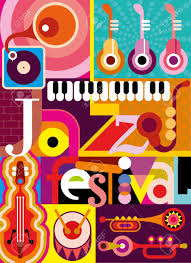 collage fonts free musical abstract collage illustration with musical instruments