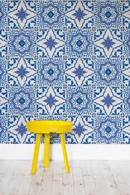 faux kitchen tile wallpaper. introducing our portuguese tile wallpaper collection faux kitchen a