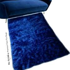 faux fur sheepskin rug faux fur sheepskin rug rectangle gy soft navy blue faux fur lambskin