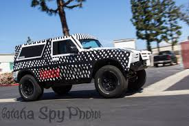 new 2018 ford bronco. fine ford new ford bronco spy photos release for new 2018 ford bronco