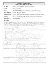 Job Title Jobs University Of Nottingham