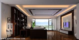 White Ceiling Design In Living RoomDrawing Room Pop Ceiling Design
