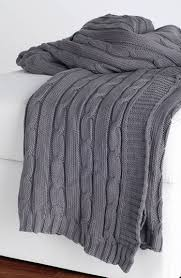 Grey Throws And Blankets