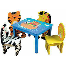 Noah\u0027s Ark Animal chairs and table for children | Toddler Kids