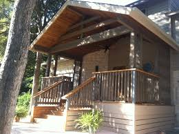 front porch stair ideas. amazing front porch railings you should consider : traditional home exterior design with natural wood columns stair ideas a