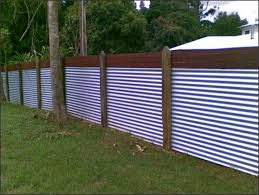 incredible corrugated metal privacy fence diy design