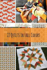 22 Quilts in Fall Colors   FaveQuilts.com & 22 Quilts in Fall Colors Adamdwight.com