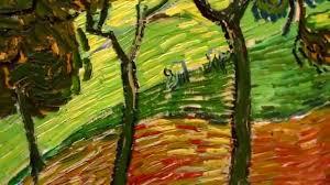 vincent van gogh oil painting vangogh dutch landscape with figures original bma museum you