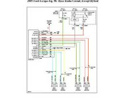 radio wiring diagram 2005 ford escape images 2005 ford focus zxw 2005 ford escape stereo wiring diagram 2005 circuit and
