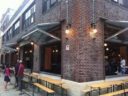 images of restaurants with garage door patios toronto