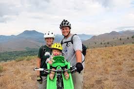 biking with baby from newborn to