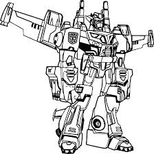 Transformer Coloring Pictures Transformers Coloring Book Transformer