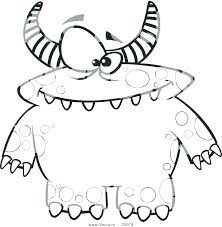 Baby Cookie Monster Coloring Pages Cute Monster Coloring Pages
