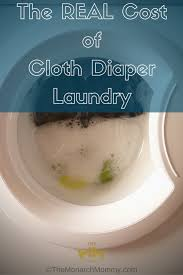 The Real Cost Of Cloth Diaper Laundry Themonarchmommy