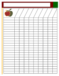 free printable roster template blank class lists editable attendance chart classroom