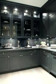 black and grey kitchen ideas gray well suited dark cabinets best on w99 cabinets