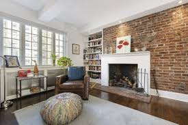 fireplace with bookshelves on one side ideas