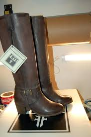 frye boot care nib knotted tall riding dark brown leather 6 m harness