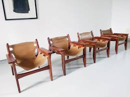 kilin chairs by sergio rodrigues for oca 1973 set of 4 for at pamono