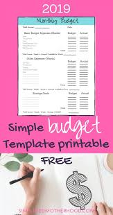Quick Budget Tool Simple Steps To Budgeting Simple Tool To Succeed Best Mom