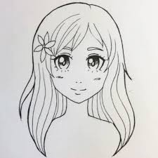 Continue with the nose and mouth. Easy Anime Drawing Tutorial And How To Skillshare Blog