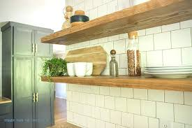 floating shelves kitchen how to install heavy duty kitchen shelves diy floating wood shelves kitchen