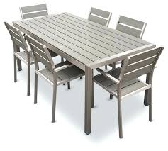outdoor table and chairs outdoor aluminum resin 7 piece dining table and chairs set outdoor table outdoor table and chairs