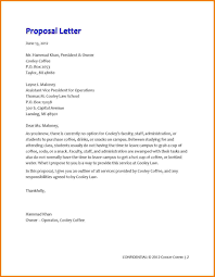 Advertising Proposal Letter New Letter Proposal Sample Free New