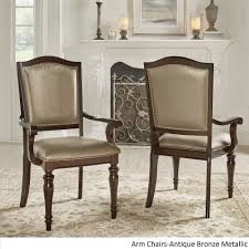 LaSalle Espresso Nail Head Accent Transitional Dining Side Chairs (Set of  2) by iNSPIRE Q Classic - Free Shipping Today - Overstock.com - 15997784
