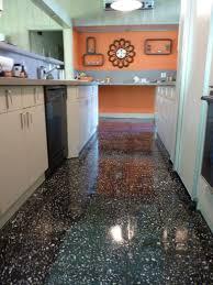 modern kitchen floors. Granite Kitchen Slate Flooring Nielsen Terrazzo Floor - Finished Modern Floors