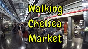 ⁴ᴷ walking tour of chelsea market in manhattan nyc at 10th avenue 15th street
