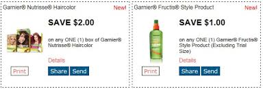 Garnier nutrisse hair color printable coupon. New Garnier Printable Coupons And Target Deals Totallytarget Com